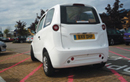 the new Microcab H2EV on forecourt at Coventry