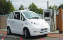 the new Microcab H2EV at Coventry filling station