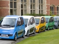 Microcabs on the University of Birmingham Campus