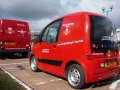 Royal Mail hydrogen fuel cell fleet at the NEC
