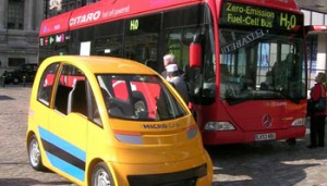 Microcab goes to London