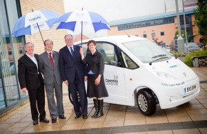 Daniel Calleja, EU Director General for SMEs, visits Microcab