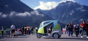 Microcab at Interlaken